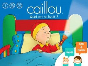 Retrouvez le héros de dessin animé Caillou dans cette histoire où les parents seront aux côtés de leurs enfants pour les aider à enrichir leur langage