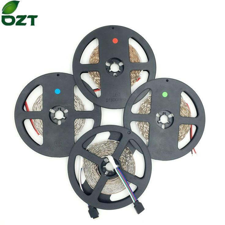 LED Strip SMD3528 5m 60led/m 300LED No Waterproof 12V RGB White Warm White Flexible Light LED Type  Home Decoration Lamps www.peoplebazar.net    #peoplebazar