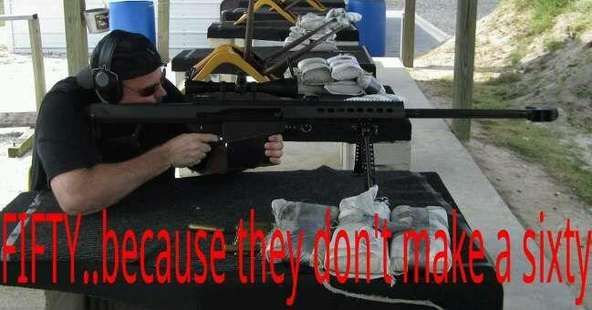 Barrett 50 BMG  https://www.barrett.net/firearms/model82a1