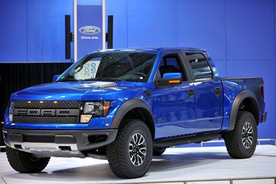 Ford SVT Raptor 2012 vem equipada com inédito sistema de tração