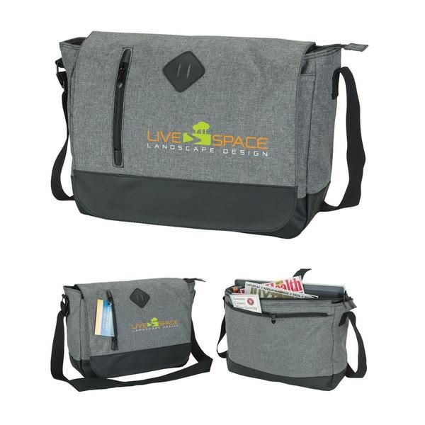 4f1b12e23da Metro Casual Messenger Bag - PROMOrx #corporategifts #swag #cooltechgifts  #merch