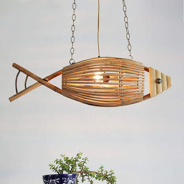 Online Shop クリエイティブ魚の形の産業家の装飾レトロペンダント