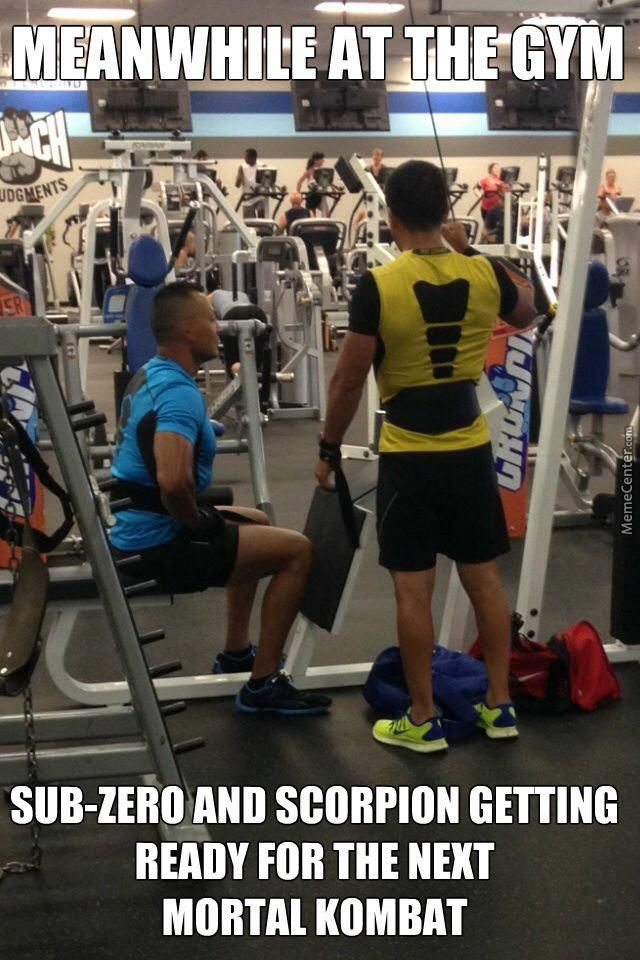 #mortalkombat #mk #scorpion #subzero #gymmemes #gym