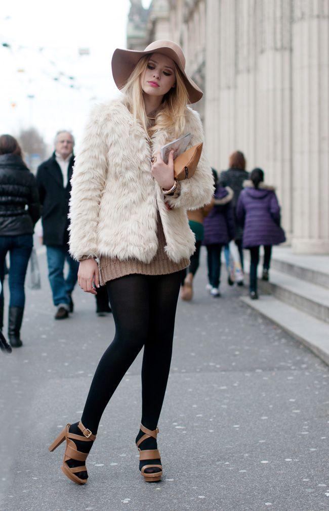 (Faux) fur coat