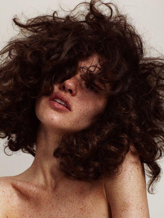 """""""Spot the Dot"""" Iana Godnia by Hannah Khymych for Models.com Makeup: Erin Parsons Hair: Stefano Greco Nails: Yukie Miyakawa Producer: Jazmin Alvarez"""
