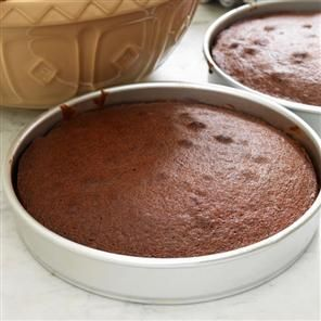 Simple chocolate cake recipe. An easy foolproof chocolate cake recipe. You could also fill it with whipped cream and jam instead of chocolate icing.