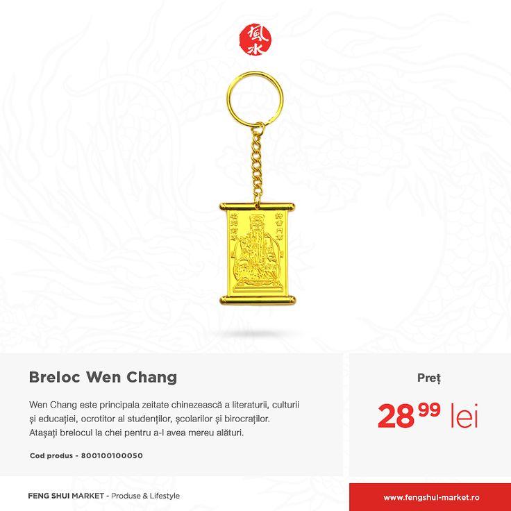 Poartă amuleta Wen Chang la cursuri și în mod special la examene, pentru a-ți aduce noroc. Ține-o aproape și atunci când înveți pentru a atrage energii pozitive.