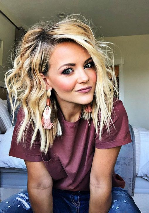 45 Trendy Medium Hairstyls for Women 2019 | Pics Bucket