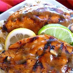 A marinade guaranteed to make your chicken breasts tender and juicy, this one has a little bit of everything... in just the right proportions.: Bit, Fun Recipes, Juicy, Chicken Breasts, Proportions, Tasti Recipes, Savory Recipes, Breast Tenders, Marinades Guarante