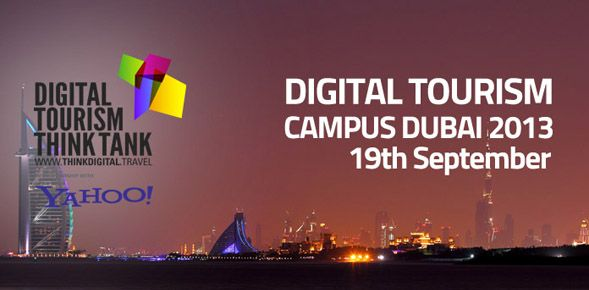 Digital Tourism - Think Tank Dubai 2013 Experts on various aspects of digital marketing as well as from tourism organisations explaining their innovative strategies will be speaking at the full-day event, on September 19th at MAKE Business Hub in Dubai.