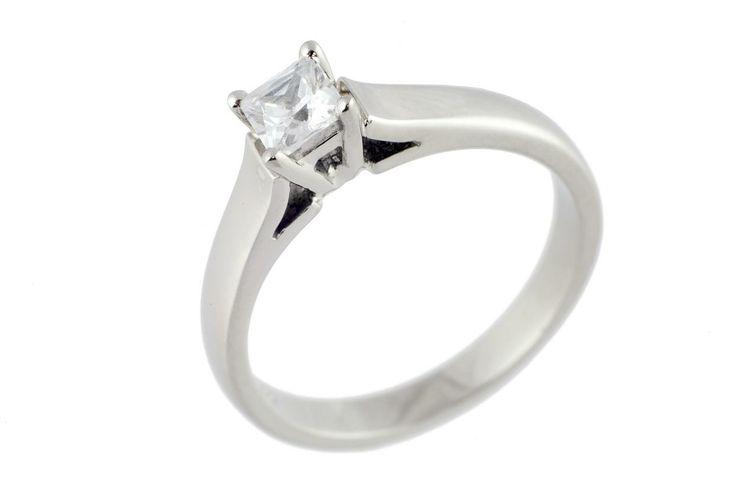 Simple Engagement Rings Princess Cut 22