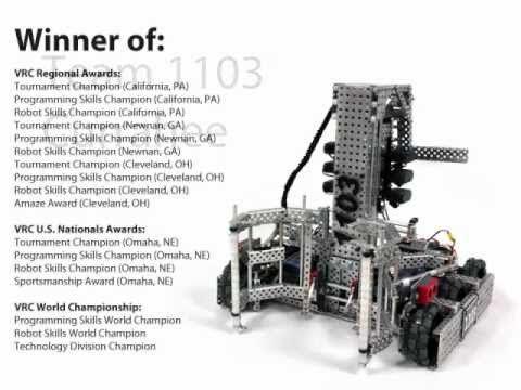 Team 1103 Currahee - Highest Scoring VEX Robot!   Robots: VEX ...