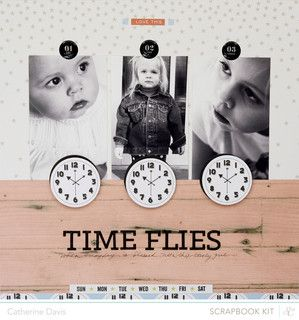 Time Flies | Main Kit Only by Catherine Davis at @Studio_Calico #SCcuppa