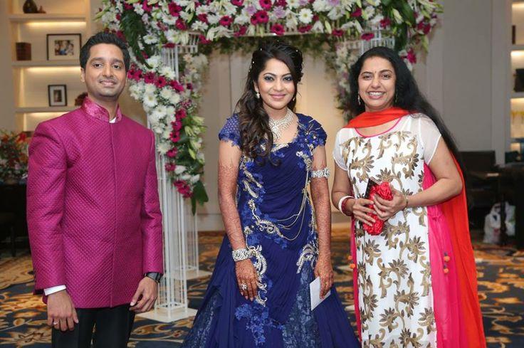 Suhasini Maniratnam at Vj Ramya Wedding Reception