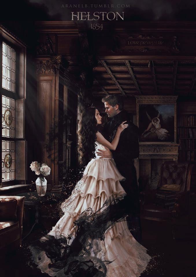 Luce e Daniel Heltson Inghilterra  Fan art di AranelB.