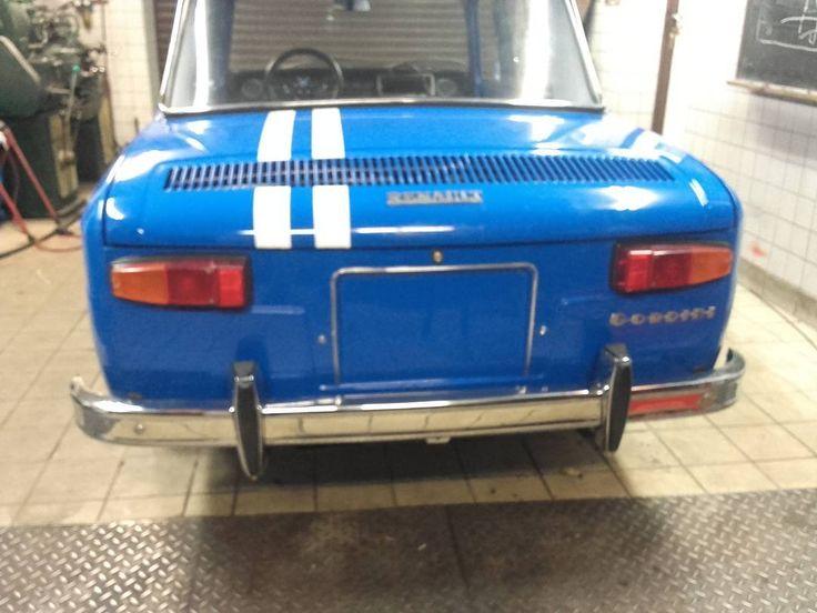 R8 Gordini - almost finished. Engine soon to start. R8 Gordini - prawie gotowa. Silnik niedługo do odpalenia.  #wroclovers #wroclove #igersworld #igerseurope #igerspoland #igerspolska #instagram #igers #instagramers #instashot #photooftheday #wroclaw #wrocław #samsung #photo #renault #renault8 #renault8gordini #gordini #renault8 #vintage #racing #car #bilauto #restoration