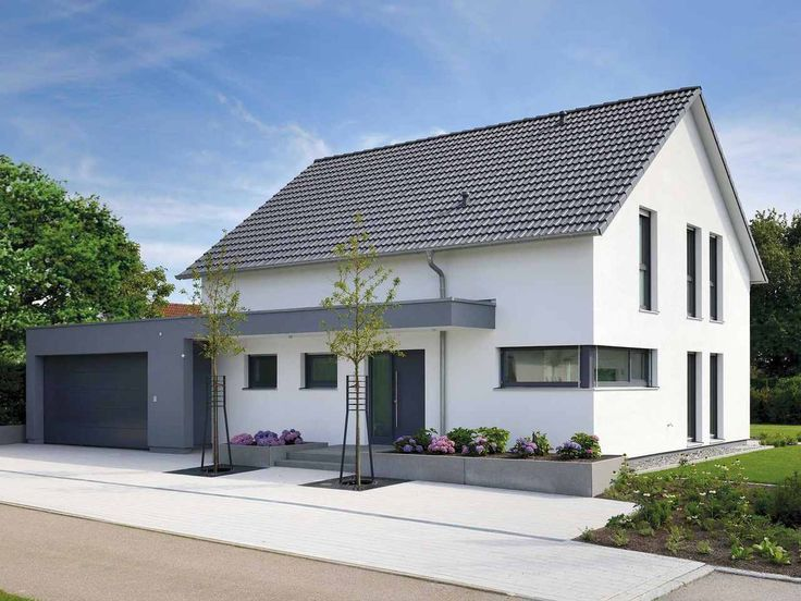 Musterhaus Life Fertighaus WEISS (mit Bildern) Haus