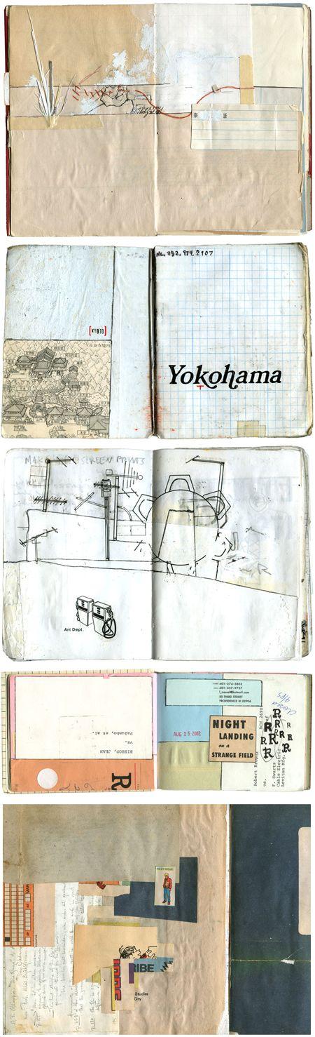 Sketchbooks of Isaac Tobin