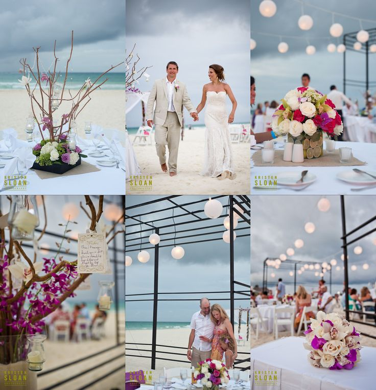 Playa del Carmen Mexico Beach Wedding at Playacar Palace « Kristen Sloan Photography Blog www.kristenphotography.com