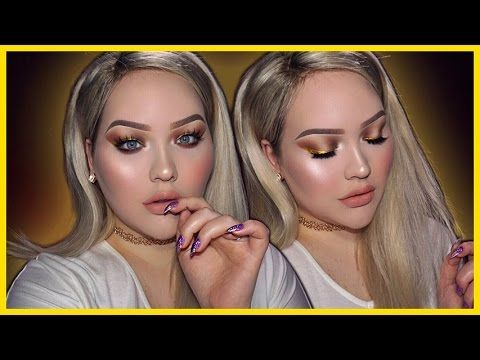 24K Magic GOLD Liner Holiday Makeup Tutorial - YouTube Using Sao Paulo long lasting liquid lipstick. Use code 'Nikkie' for 30% off! https://www.ofracosmetics.com/products/long-lasting-liquid-lipstick?variant=9014149123