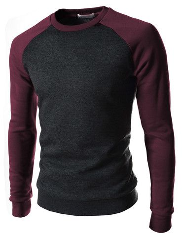 A more interesting way to wear a black crew neck top, keeping to dark strong colours