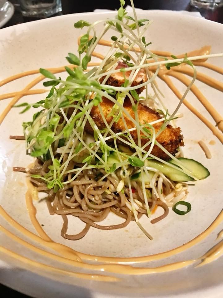 Salmon woth Noodles