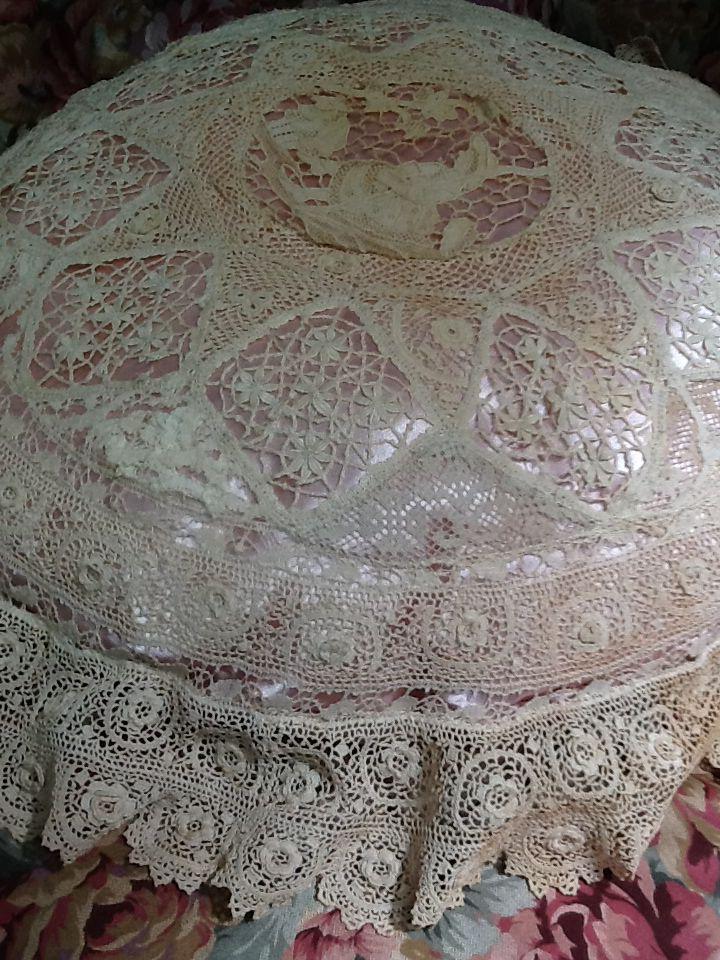 Irish crochet lace!!