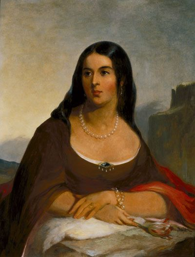 Pocahontas ~ Her descendants through her son Thomas (husband John Rolfe) include members of the First Families of Virginia, First Ladies Edith Wilson and Nancy Reagan,  and astronomer Percival Lowell