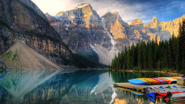 Banff, Canada: Banff Canada, Travel Channel, Daily Escape, Morain Lakes, Beautiful Places, Lakes Banff, Roads Trips, Moraine Lakes, Banff National Parks