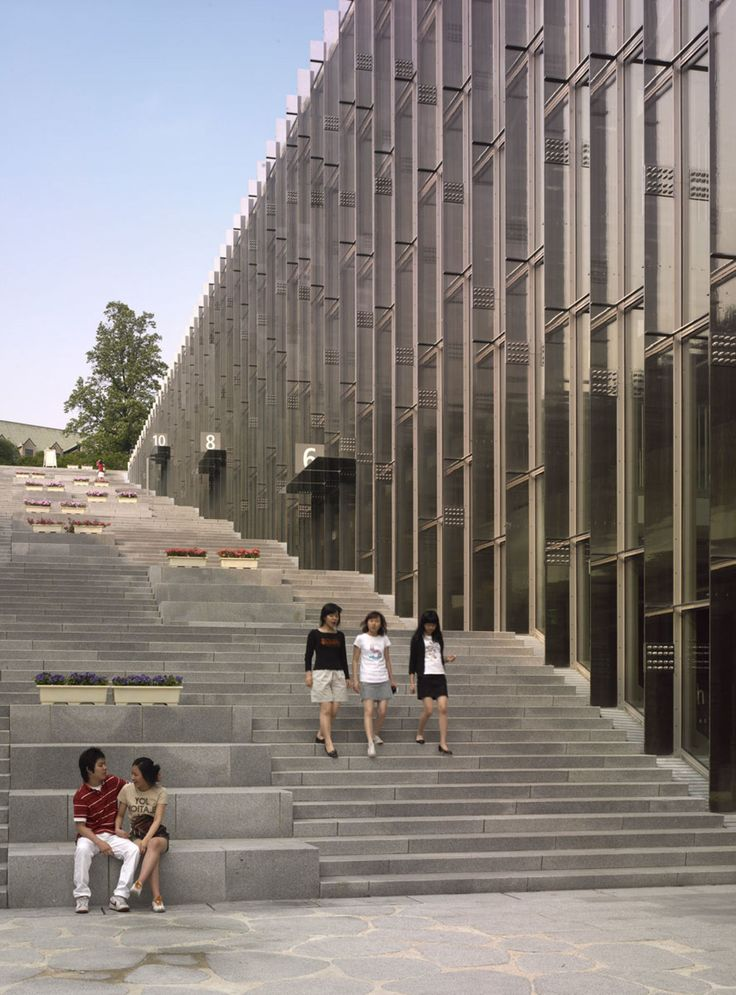 Dominique Perrault Architecture · Ewha Womans University · Divisare