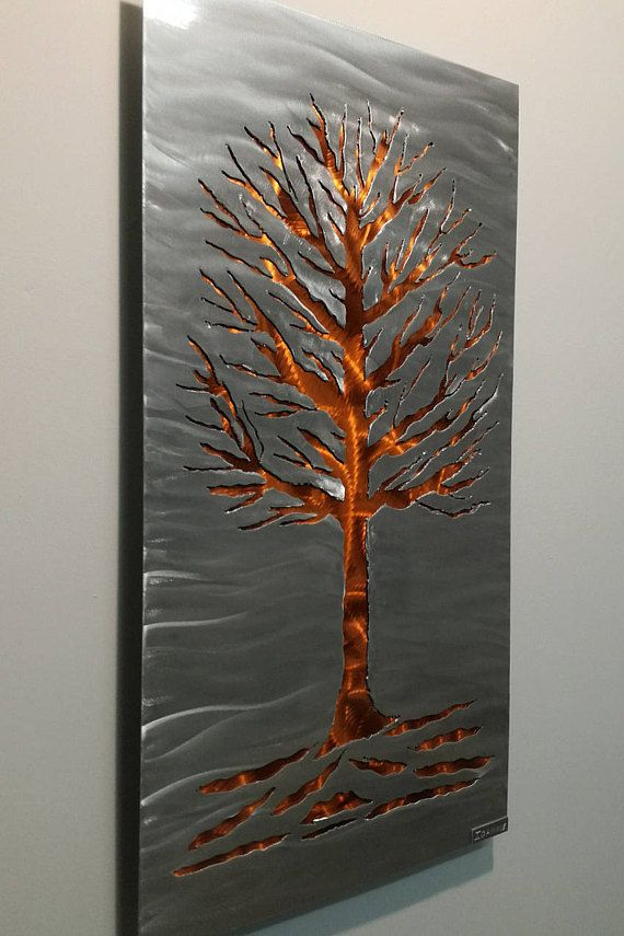 A Perfect Modern Wall Sculpture For Your Contemporary Modern Or Traditional Home Decor Living R Modern Wall Sculptures Metal Tree Wall Art Metal Wall Sculpture #wall #sculpture #for #living #room