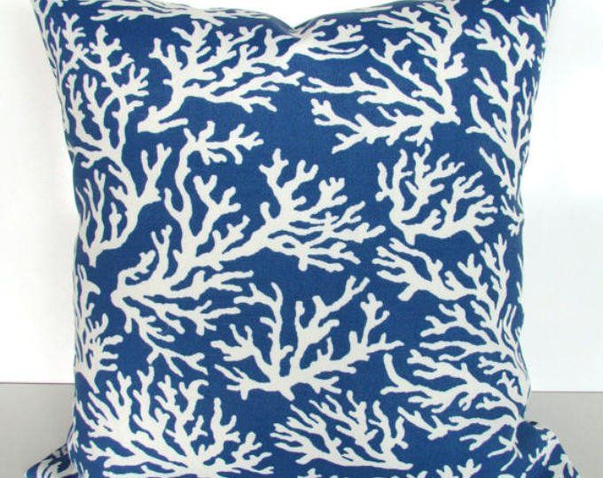 Coral Throw Pillows Coral Throw Pillow Covers Outdoor Pillow Etsy