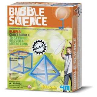 Bubble Science by ToySmith/4M   eBeanstalk