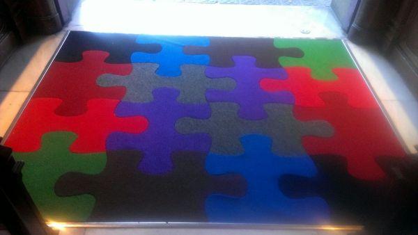 Alfombra puzzle nueva de Puzzlemania