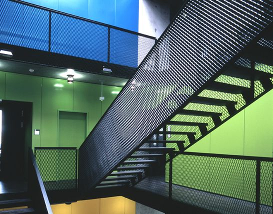 Expanded metal for stairs fasad perforering pinterest