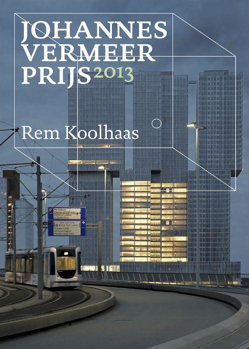 Vanavond wordt in besloten kring de Johannes Vermeer Prijs uitgereikt. Rotterdam vormt voor Rem Koolhaas een grotere uitdaging dan Amsterdam, 'omdat er nog van alles kan'... Vanaf nu is de bijbehorende publicatie ook te bestellen: http://www.boekman.nl/producten/publicaties/het-streven-naar-grenzeloosheid