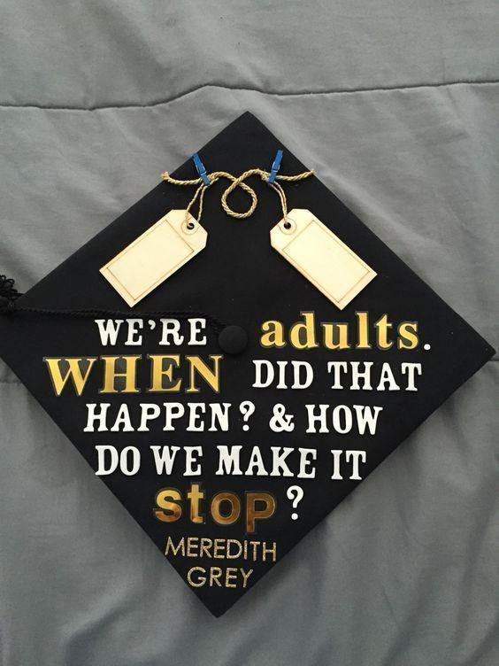 49 High School Graduation Cap Decoration Gray's Anatomy - #anatomy #decoration #graduation #school - #new