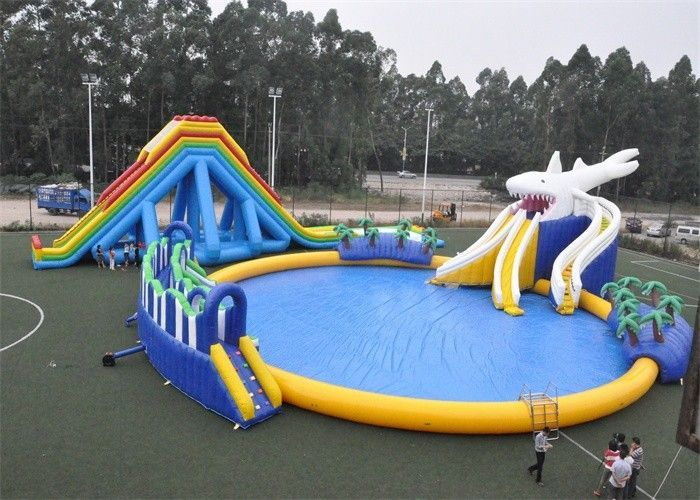 Entertainment Blow Up Games Ultimate Inflatable Water Park ...