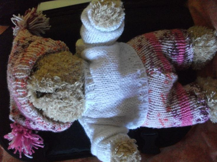 Teddies Knitted Outfit - Knitting creation by mobilecrafts | Knit.Community