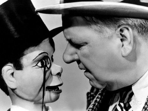 You Can't Cheat An Honest Man, Charlie McCarthy, W.C. Fields, 1939 Premium Poster