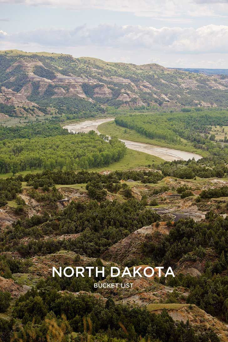 Best Things to Do in North Dakota Bucket List // localadventurer.com