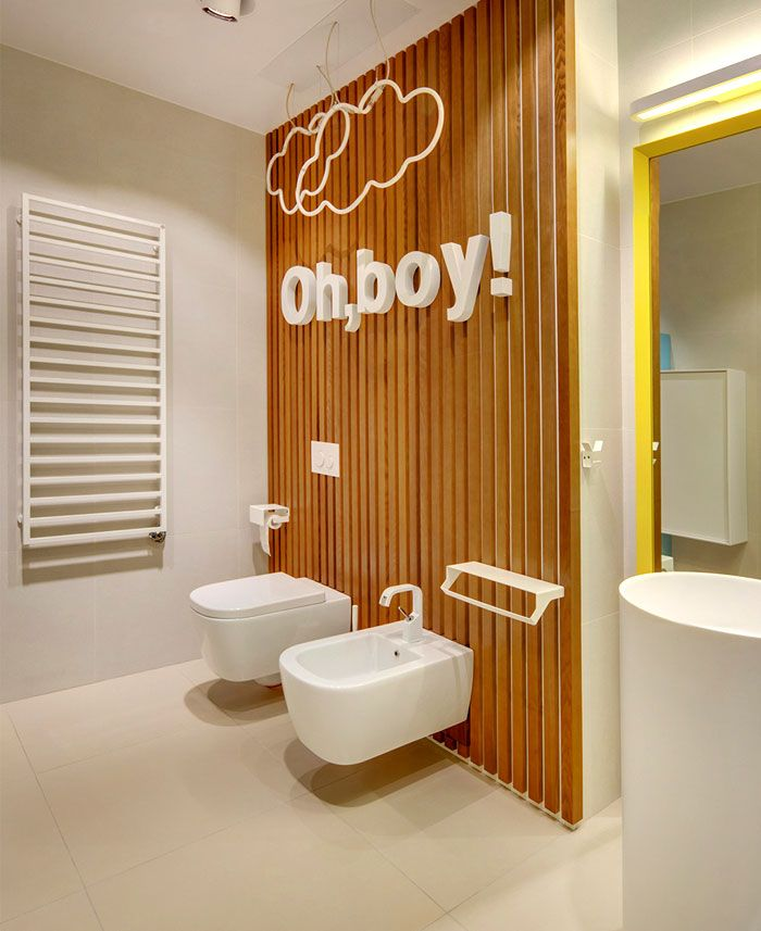 Moscow Apartment Created for a Young Family moscow apartment young family bathroom