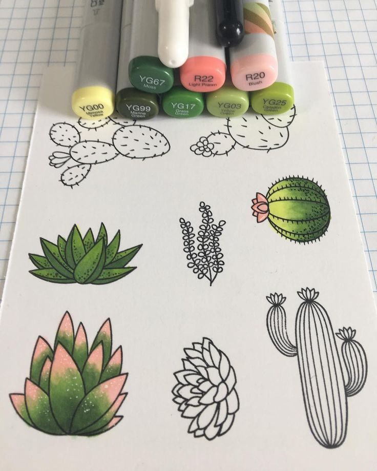 Easy Things To Draw With Markers | 11 Cool & Cute Drawings