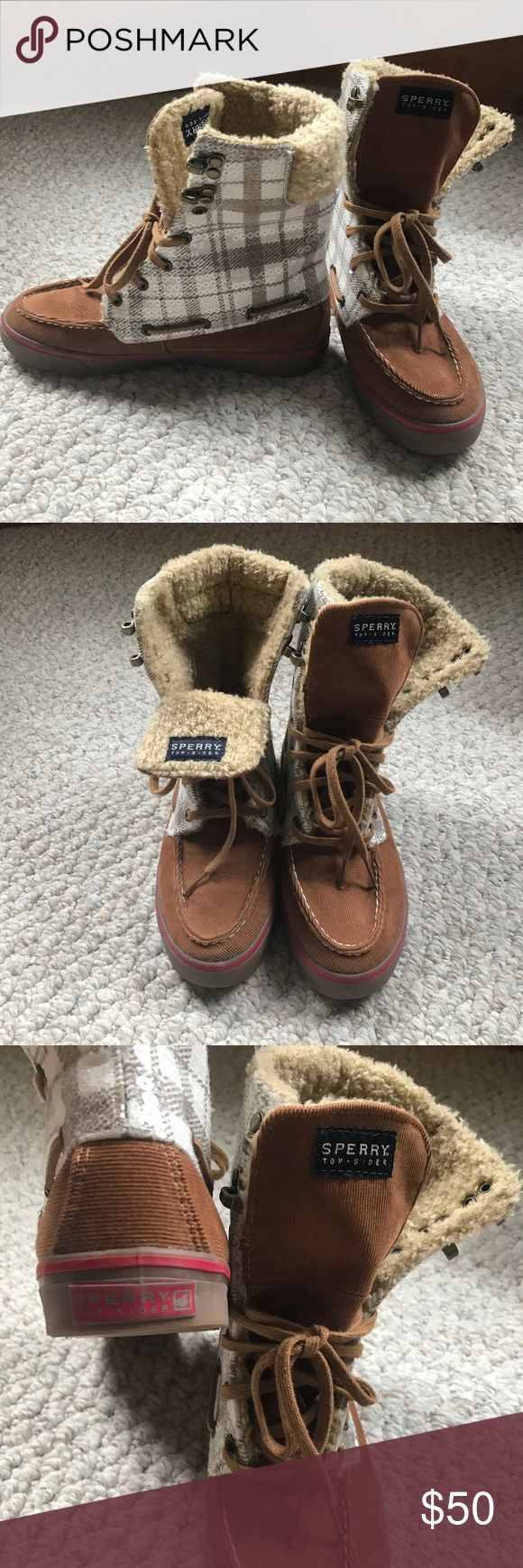 Sperry Top Sider Boots Sperry Top Sider Acklins Fashion Boots. Excellent condition. Women's size 6. Open to offers! Sperry Top-Sider Shoes Ankle Boots & Booties