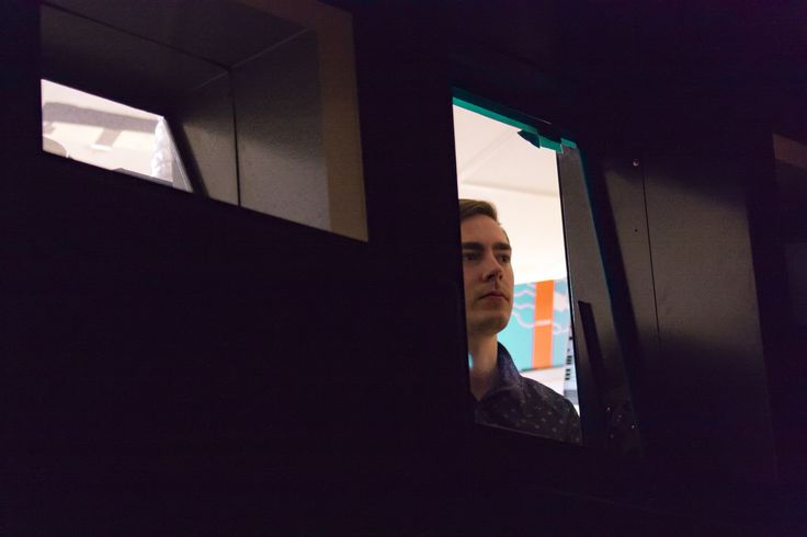 I love this shot of the staff member looking out because as I learnt that day, projectionists are no longer needed. It gives of this feeling that what if they did need projections. This is what it would look like, a person looking through the window.