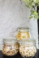 Burk med lock 500 ml Klarglas Glas - Burkar & Förvaring - Rusta