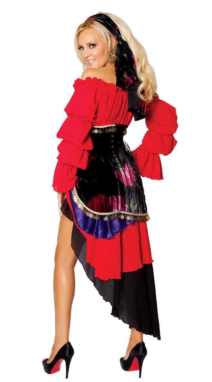 Hustler pirate costume