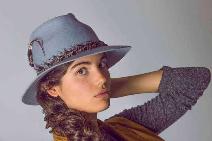 Hat sombrero millinery handmade fedora felt