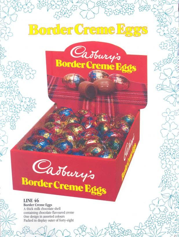 Not many people seem to remember these. They were basically exactly the same as a cream egg but were filled with chocolate fondant instead of the popular white and yellow. I think maybe they were marketed at adults more than kids. They didn't seem to stick around for very long -so probably did not sell well at all.