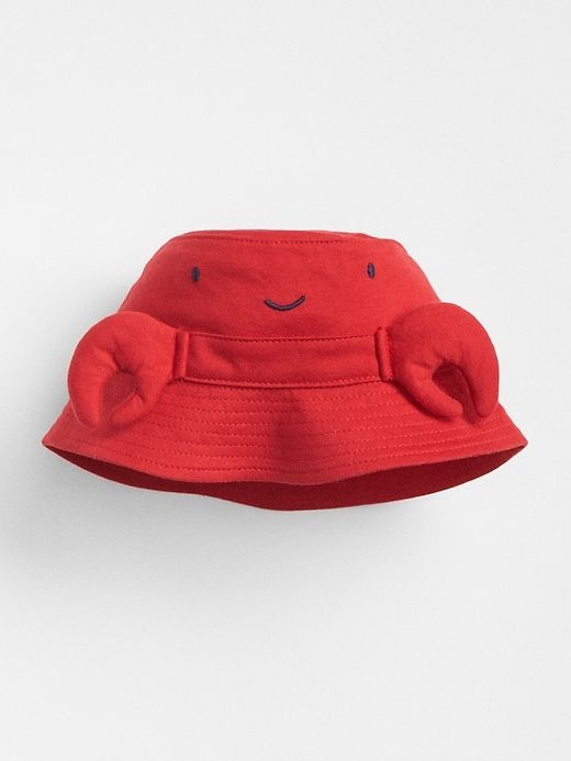 accaf3ca6b229 Gap Baby Lobster Bucket Hat Pure Red